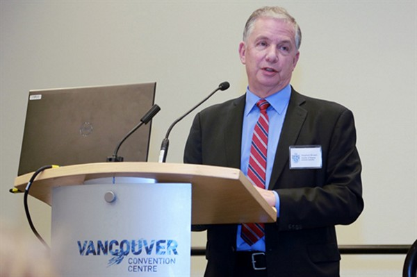 Captain S Brown MICS, Chamber of Shipping of British Columbia