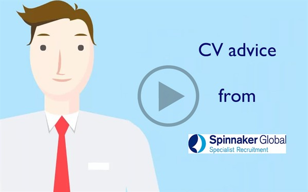 CV ADVICE FROM SPINNAKER