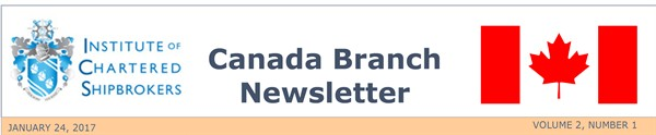 ICS Canada Branch Newsletter - WINTER 2016-1 front