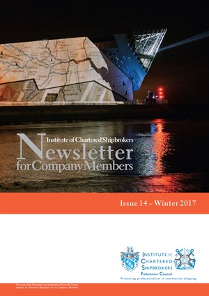 ICS Federation Magazine Newsletter 14 Winter 2017 - cover