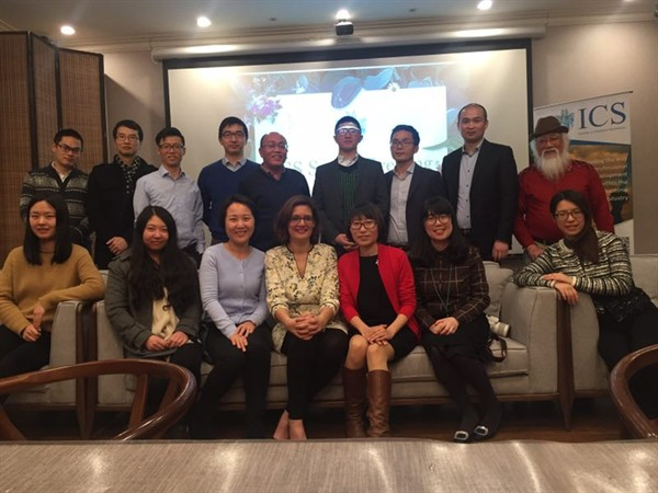 The Institute Teaching Center China welcomes the Director Julie Lithgow