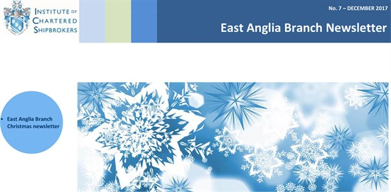 East Anglia Branch Newsletter - 7 - Dec 2017 banner