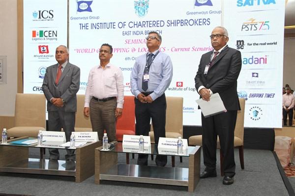 Chennai ICS Seminar on shipping & Logistics current scenario