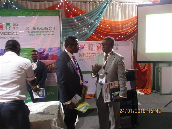 OLAREWAJU with Executive Director NIMASA
