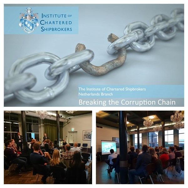 "Rotterdam seminar ""Breaking the Corruption Chain"""