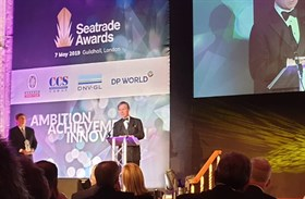 Institute President Lord Moutevans receives Seatrade Award