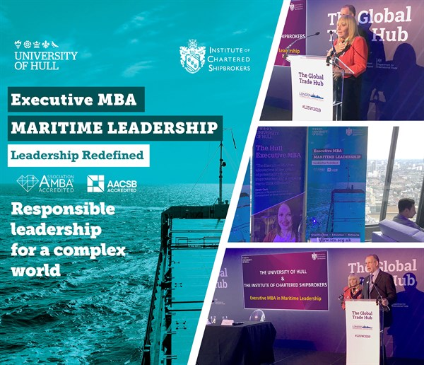 Maritime Leadership MBA ICS HULL UNIVERSITY LT